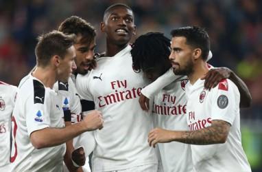 Hasil Liga Italia : Milan Gasak Genoa, Sampdoria Makin Terpuruk