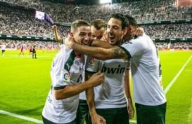 Hasil La Liga : Valencia Menang 2 - 1, Villarreal Kalah 1 - 2