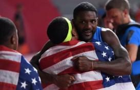 Amerika Serikat Juara Dunia 8 Kali Lari Estafet 4 x 100 Meter Putra