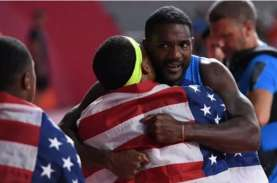 Amerika Serikat Juara Dunia 8 Kali Lari Estafet 4…
