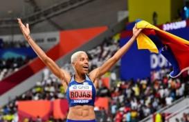 Yulimar Rojas Pertahankan Gelar Juara Dunia Lompat Jangkit