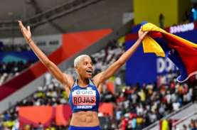 Yulimar Rojas Pertahankan Gelar Juara Dunia Lompat…