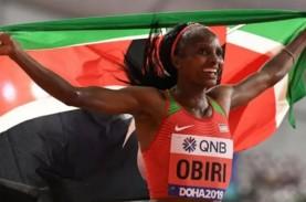 Pelari-pelari Kenya Dominasi 5.000 Meter Putri di…