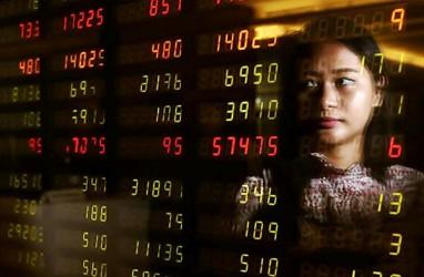 Transaksi Broker Saham Terpapar Eskalasi Perang Dagang dan Demo