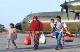 Tujuh Warga Banten Dipulangkan dari Papua Tiba di Serang