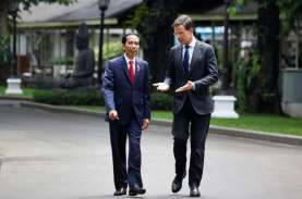 Jokowi Terima Perdana Menteri Belanda Mark Rutte di…