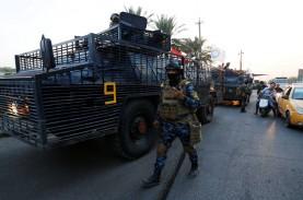 110 Orang Tewas saat Demo di Irak