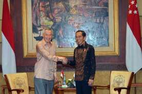 Bertolak ke Singapura, Jokowi Akan Bertemu PM Lee…