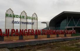 Bandara APT Pranoto Kembali Normal Setelah Ditutup