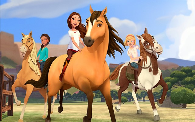 Serial televisi Spirit Riding Free/Netflix