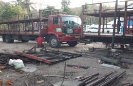 Langgar ODOL, Ratusan Truk di Dipotong Fisik di Jateng dan DIY
