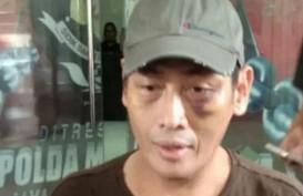 Polisi Tahan 12 Tersangka Penganiaya Relawan Jokowi Ninoy Karundeng