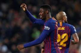 Menghujat Wasit, Dembele Absen di El Clasico Barcelona vs Real Madrid