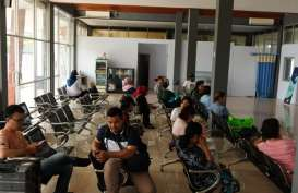ERUPSI GUNUNG DUKONO, Bandara Pitu Morotai Ditutup Sementara