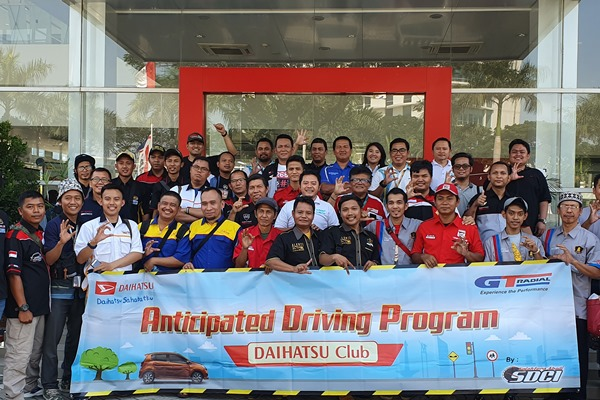 Peserta Anticipated Driving Program yang digelar Daihatsu di Bekasi pekan lalu. - ADM