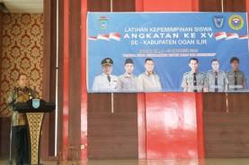 85 Peserta Ikuti Latihan Kepemimpinan Siswa di Ogan…