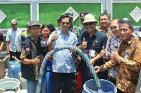 Dua Kabupaten Kekeringan, BI Jateng Bantu Air Bersih
