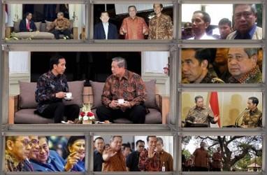 Bertemu SBY, Jokowi Sebut Bahas Soal Koalisi