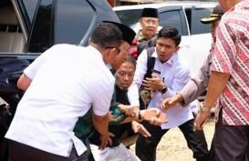 Usai Bertemu SBY, Jokowi Jenguk Wiranto di RSPAD Gatot Subroto