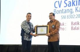 BSN Beri Sertifikat SNI untuk Batik Kuntul Perak Binaan Pupuk Kaltim