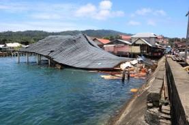Diguncang Gempa Beruntun, Kota Ambon Lengang