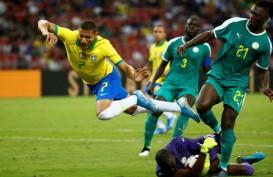 Brasil Dipaksa Imbang Senegal di Singapura