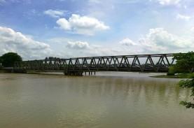 Hujan Datang, Debit Air Sungai Cisadane Normal Kembali