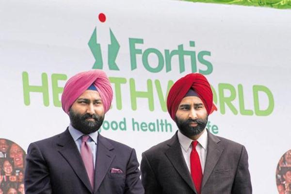 Fortis founders Malvinder Singh dan saudaranya Shivinder - HT