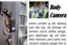 Ada Body Camera di Tubuh Polantas Polda Metro Jaya