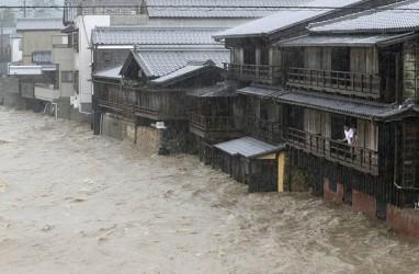 Topan Hagibis Landa Jepang, Jutaan Warga Mengungsi