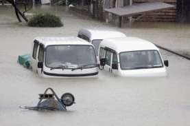 Badai Topan Hagibis Melanda Jepang, Satu Korban Tewas