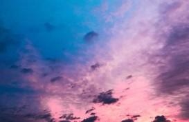 Saat Datang, Topan Hagibis Membuat Langit Jepang Berwarna Ungu