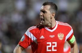 Pesta Gol, Rusia Ikuti Belgia Lolos ke Euro 2020