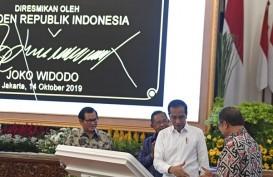 Sempat Molor, Jokowi Akhirnya Resmikan Palapa Ring