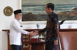 Jokowi Terima Zulhas di Istana, Bicara Soal Kabinet?