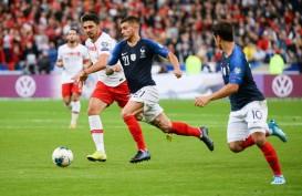 Hasil Kualifikasi Euro 2020 : Skor 1 - 1 di Paris, Turki Tetap di Atas Prancis