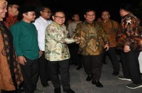 Prabowo Puji PKB dan NU, Muhaimin Cs Tertawa-tawa