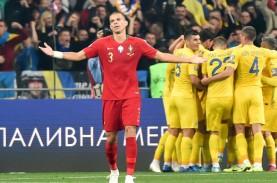 Gasak Portugal dengan Ronaldo, Ukraina Tim Ke-5 Lolos…