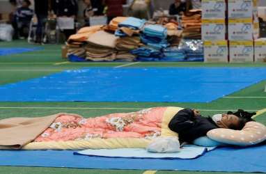 PM Shinzo Abe Janji Lakukan Apapun untuk Selamatkan Korban Topan Hagibis