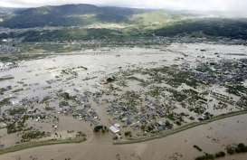 Badai Hagibis : Dua Tuna Wisma Diusir dari Pusat Evakuasi, Ini Reaksi PM Jepang