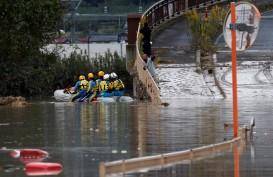 Tim Penyelamat Terus Bekerja, Korban Tewas Hagibis Capai 74 Orang