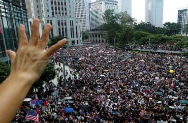Demo Hong Kong : DPR AS Loloskan RUU Dukung Aktivis Pro-demokrasi