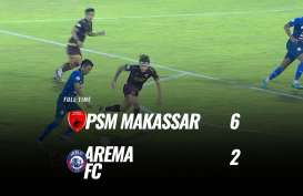 PSM Makassar Hajar Arema FC 6-2, Dendam pun Terbayar Lunas. Ini Videonya