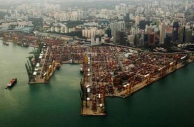 Ironis, 85 Persen Pengapalan Ekspor Masih Transit di Singapura!