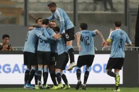 Peru Gagal Atasi 10 Pemain Uruguay di Lima, Skor 1…