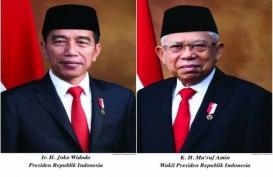 Sesneg Rilis Foto Resmi Presiden dan Wapres 2019-2024