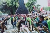 Demo Mahasiswa, Massa BEM SI Mulai Bergerak Menuju Istana