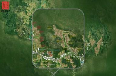 Konstruksi Menara B Apartemen Emerald Bintaro Rampung