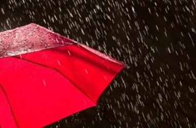 Cuaca Indonesia 18 Oktober: Hujan di Padang, Palembang, Medan