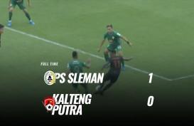 PSS Sleman Tekuk Kalteng Putra 1-0, Melejit ke Posisi 4. Ini Videonya